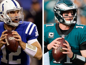 Which QB has more to prove this season: Carson Wentz or Andrew Luck?