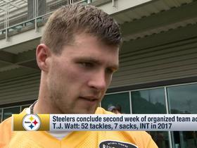 T.J. Watt explains how his role will change in year two for the Steelers
