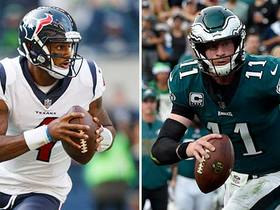 Will Deshaun Watson have a bigger season than Carson Wentz in 2018?