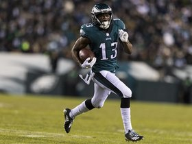 Schrager: No one questions Nelson Agholor's place on Eagles roster anymore