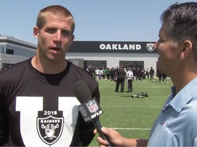 Jordy Nelson discusses his transition from Packers' offense to Raiders'