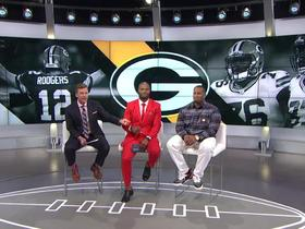 Mike Daniels joins 'NFL Total Access' to talk Packers