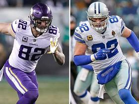 Rudolph on learning from Witten: 'I don't think I left him alone' all of Pro Bowl week