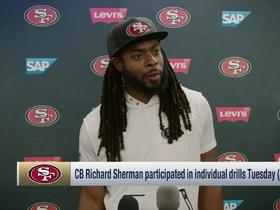 Richard Sherman: My body feels 'light years better' than it did last offseason