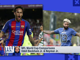 NFL-World Cup player comparison: Odell Beckham Jr. and Neymar Jr.