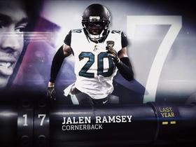 'Top 100 Players of 2018': Jalen Ramsey | No. 17