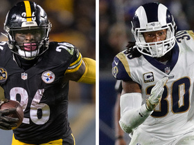 Who's better with the game on the line: Le'Veon Bell or Todd Gurley?