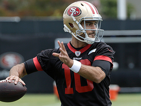 Three stats that suggest Jimmy G will be even better in 2018 than he was in 2017