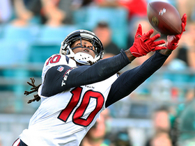 Is Andre Johnson's take that Hopkins is the NFL's best WR right?