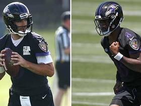 If you're a Ravens WR, which QB do you want to play with?