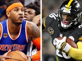 NFL's Carmelo Anthony? Nate Burleson compares Le'Veon Bell to NBA star