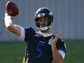 LT: Joe Flacco has 'nothing to worry about' in Ravens QB competition