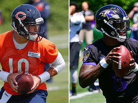 Which QB has more upside: Trubisky or Lamar Jackson?