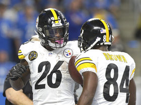 Which Steeler would you rather have: Antonio Brown or Le'Veon Bell?