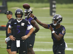 What would the Ravens record need to be for Lamar Jackson to replace Joe Flacco?