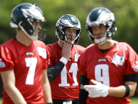 How should Eagles handle QB situation in camp?