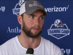 Andrew Luck: 'I'm the best I've felt in a long, long time'