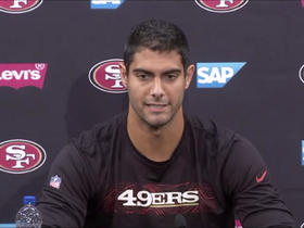 Jimmy G talks on how life has changed being in the spotlight