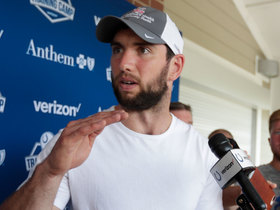 Pelissero: Luck is 'ticked off' at doubters