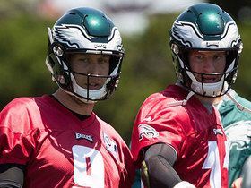 Garafolo: No Wentz, little of Foles right now at QB for Eagles