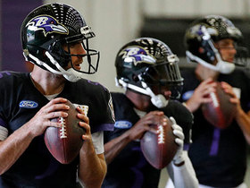 Billick: If Ravens aren't competitive early, then QB battle 'rears its ugly head'