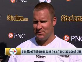 Ben Roethlisberger on 2018 Steelers: 'I'm really excited about this group'