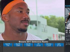 Myles Garrett: 'We're definitely trying to make a name for ourselves this year'