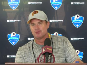 Jay Gruden accidentally calls Colt McCoy 'Kirk'