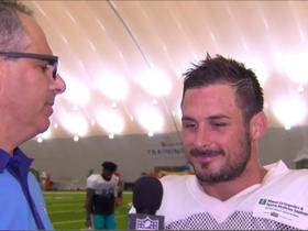 Amendola on Tannehill: 'He has all the intangibles'