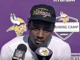 Diggs gets emotional talking about extension