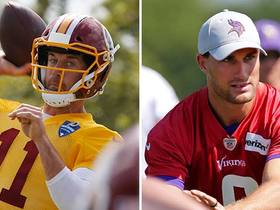 Michael Robinson: Alex Smith is an 'upgrade' from Kirk Cousins