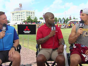 Ryan Kerrigan on Derrius Guice: I'm so impressed by his balance, exceptional athletic ability