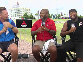 Norman gives one-word reactions to WRs
