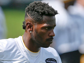 Antonio Brown leaves camp with an undisclosed injury