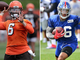 What to expect from Barkley, Mayfield on Thursday