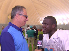 Gore on being with Dolphins: 'I still feel good...I'm home'