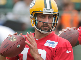 What do we make of Aaron Rodgers questioning players' effort in practice?