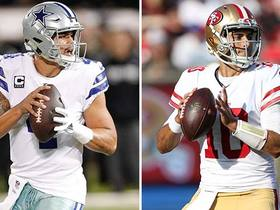 Who has bigger expectations in 2018: Dak Prescott or Jimmy Garoppolo?