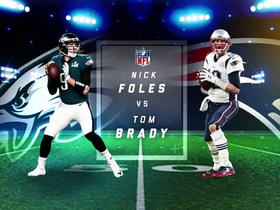 Who plays better Thursday night: Brady or Foles?
