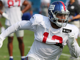 Jones: Giants 'absolutely thrilled' how OBJ looks in practice
