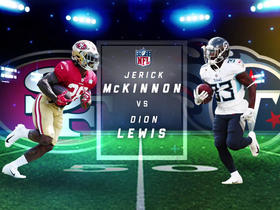 Better fantasy option: Jerick McKinnon or Dion Lewis?