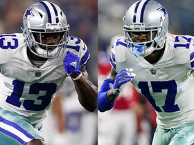 Who is the Cowboys No. 1 wide receiver for 2018?