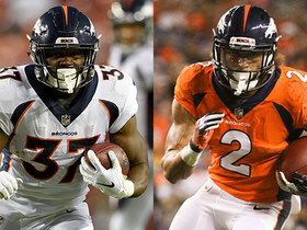 Who's winning a RB spot on the Broncos roster?