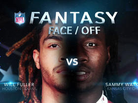 Better fantasy option: Will Fuller or Sammy Watkins?