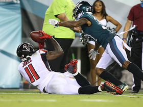 Julio's would-be 51-yard grab ruled incomplete after review