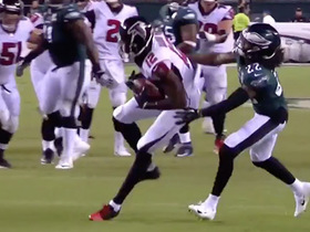 Sanu converts another big-time third down on dart pass from Matty Ice