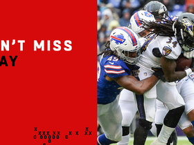 Can't-Miss Play: Alex Collins bulls over Bills defenders on TD