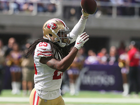 Richard Sherman falls on Dalvin Cook's fumble for 49ers recovery