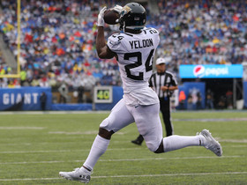 Bortles finds T.J. Yeldon on rollout for 1-yard TD