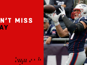 Can't-Miss Play: Gronk makes controversial grab with two defenders all over him